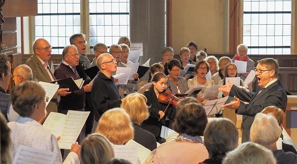 Chormusik in der Marktkirche